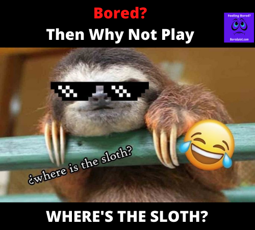 Where's the sloth game