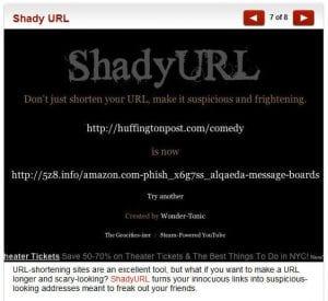 shady url