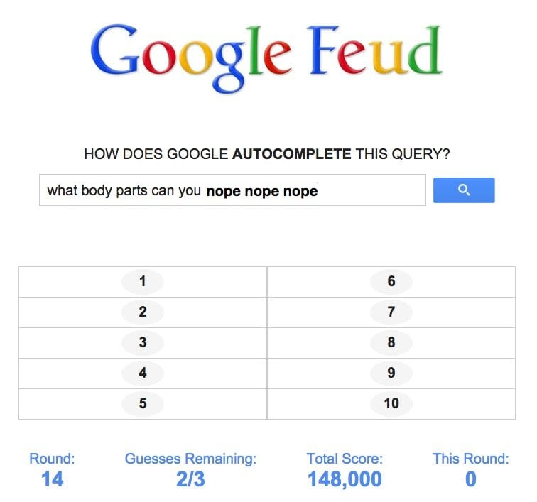 google predictor