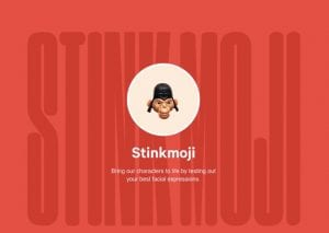 stinkmoji facial recognition