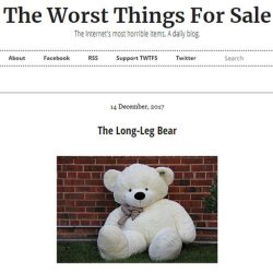 The Worst Things For Sale