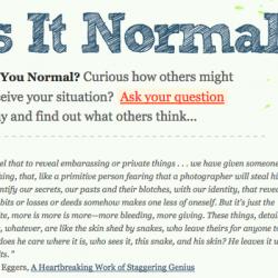 Is It Normal ?