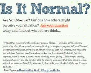 is it normal