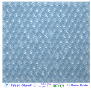 virtual bubble wrap