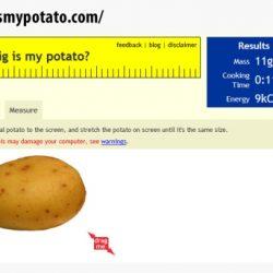 How Big Is My Potato?