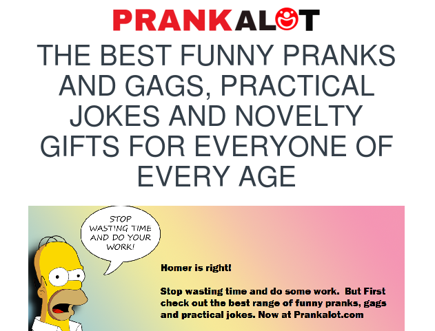 prank a lot
