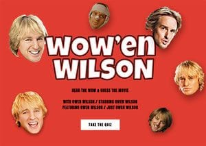 which owen wilson movie
