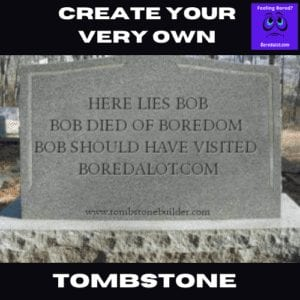 funny tombstone maker
