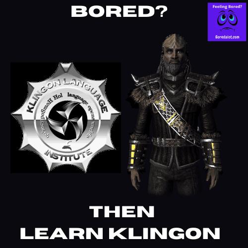 Learn Klingon