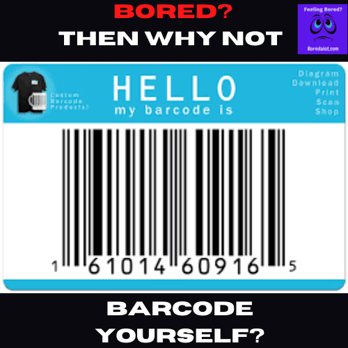 Barcode Yourself