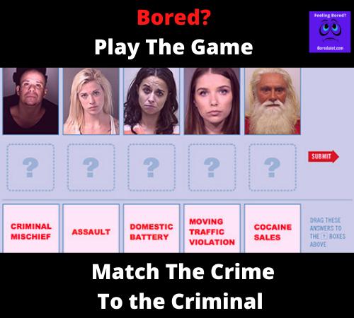 The Mugshot Game