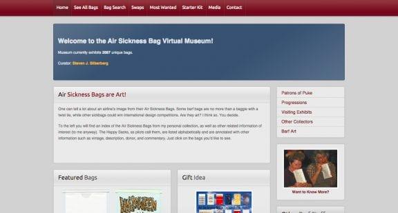 air sick bag museum