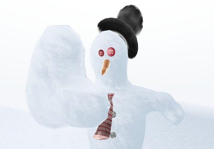 Build A Virtual Snowman