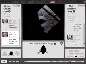 apollo 11 lunar landing live