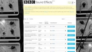 16000 sound effects