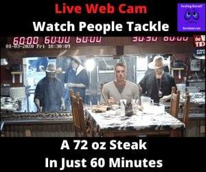 72oz steak live webcam