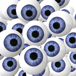 Weird Moving Eyes
