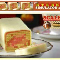 Battenburg Cake Art
