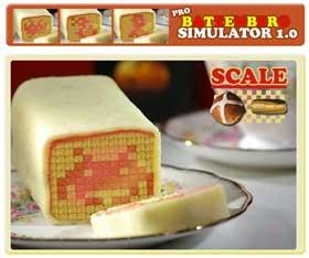 Battenberg Cake Art