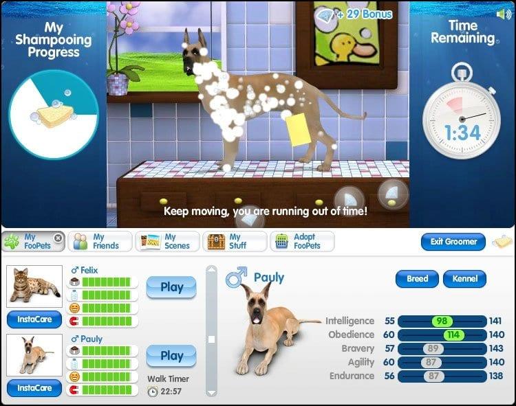 free virtual pet