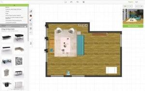 3D room designer