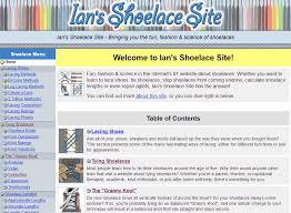 Shoelace site