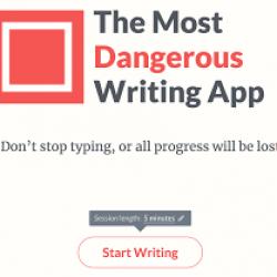 Worlds Most Dangerous Writing App