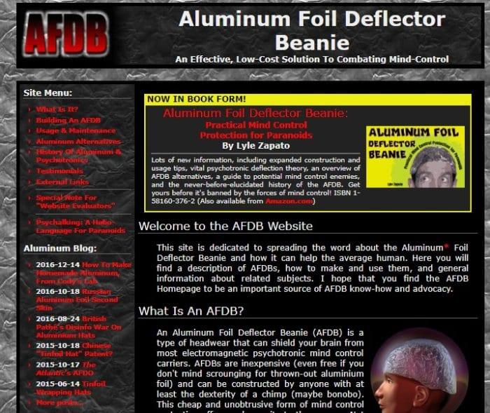 Aluminum Foil Deflector Beanie