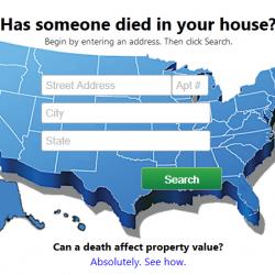Died In House Creepy Website