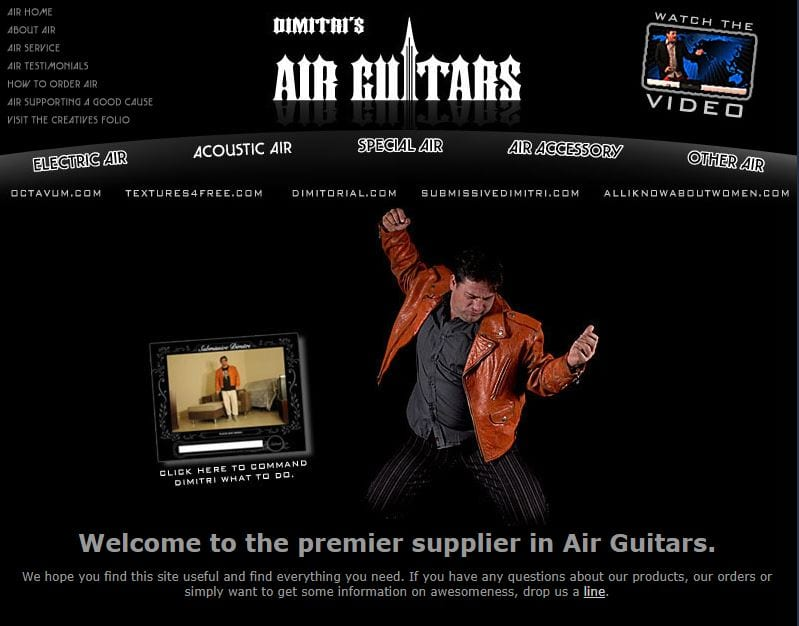 Real Air Guitars