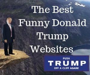Funny donald trump websites