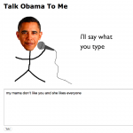 funny talk obama