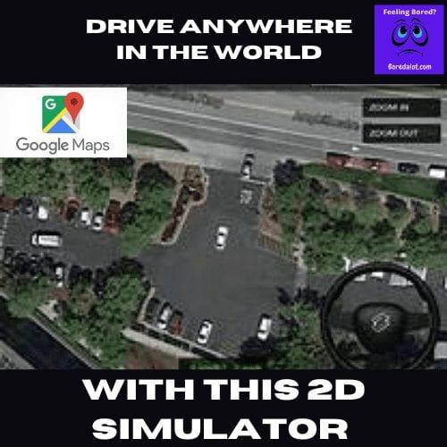 2D Driving Simulator