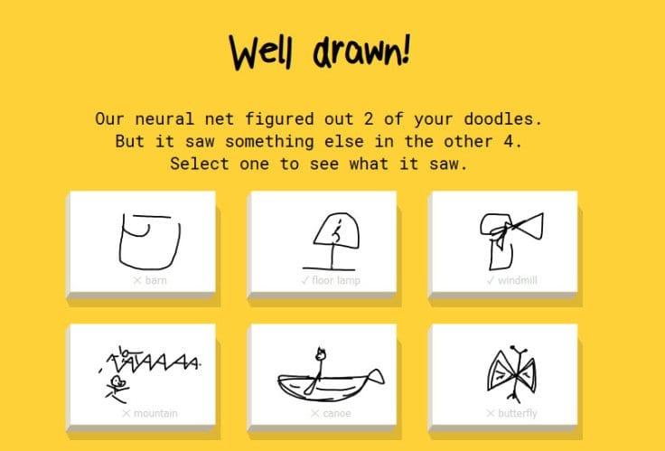 Google Quick Draw Game