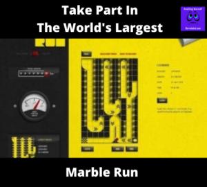 Worlds longest marble run