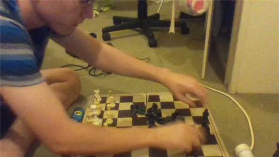 Fastest time to arrange a chess set