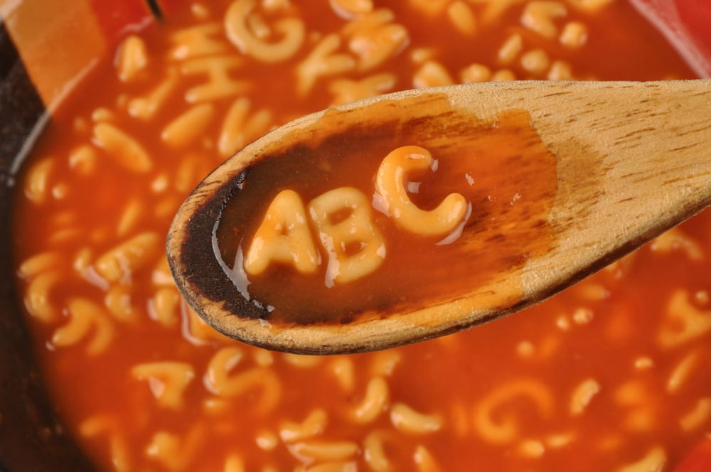 2.Fastest time to arrange the alphabet from a can of alphabet soup After all that stockpiling people across the world have been doing you would have thought that someone would have some alphabet soup. Well, if you are that special someone then I have a challenge for you. Tip out your soup and try and arrange the letters into the 26 letter long alphabet. The current record is 3 minutes 21 seconds which is a yawning crevasse of time if compared to the amount of time it takes a horde of angry stockpilers to clear the shelf of them (DISCLAIMER- do not stockpile). So why not beat little old Cody Jones of Dude Perfect, yes the famous YouTube channel with almost 50 million subscribers, and become an alphabet soup champion.  And if you really want you can pour the soup into a bowl and eat the whole thing after you have finished with the challenge so as not to waste precious food.
