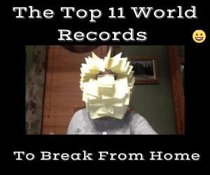Armchair world records