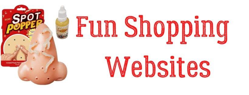 Weird Shopping Websites