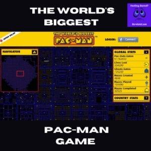 worlds biggest pacman game