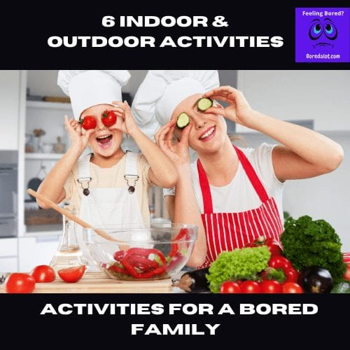 Summer Activities for a Bored Family