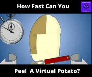 The Potato Peeling Game