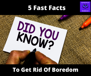 ast Facts to Get Rid of Your Boredom