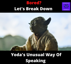 Breaking Down Yoda's Syntax